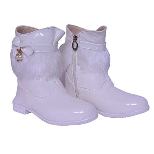 Twinkle Star White Long Shoes for Kids