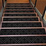 Kozyfox Carpet Stair Treads Carpet Non Slip for Wooden Steps (8 x 30