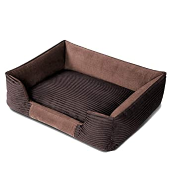 Cama para Perro Grande Sofá para Dormir, Cubierta extraíble y algodón Separable Algodón Acolchado para
