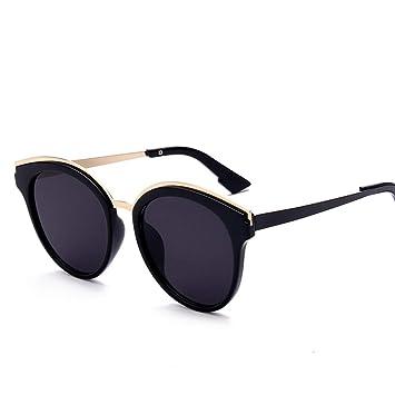 AREDOVL Gafas de Sol Redondas pequeñas para Hombres. Gafas ...
