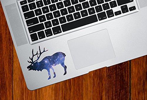 Cosmic Elk - Spirit Animal - Galaxy Guide - Trackpad | Tablet | iPad - Vinyl Decal Sticker Copyright 2015 Yadda-Yadda Design Co. (3.5