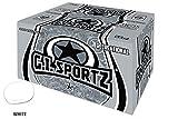 GI SPORTZ 1 STAR RECREATIONAL PAINTBALLS 2000 Rounds Paint Balls (White Fill)