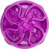 Outward Hound Kyjen  51005 Fun Feeder Slow Feed Interactive Bloat Stop Dog Bowl, Small, Purple