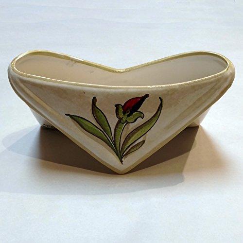Arte D'Italia Imports Audrey Handmade and Hand Painted Letter Holder Ceramic Envelope