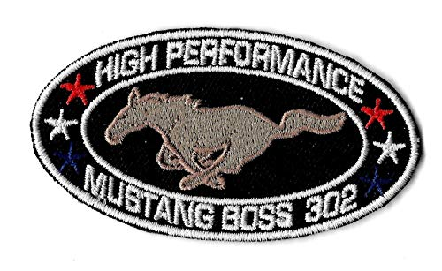 Mustang Embroidery (Embroidery Patch New Ford