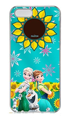 iPhone 5 Case, iPhone 5S Cases - Crystal Clear Slim Hard Case for iPhone 5/5S Frozen Fever 2015 Poster Highly Protective Clear Hard Bumper Case for iPhone 5/5S