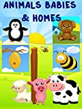 Learning Animals Babies and Homes Video for Kids - Baby Animals, Animals Homes and Habitats Video for Children