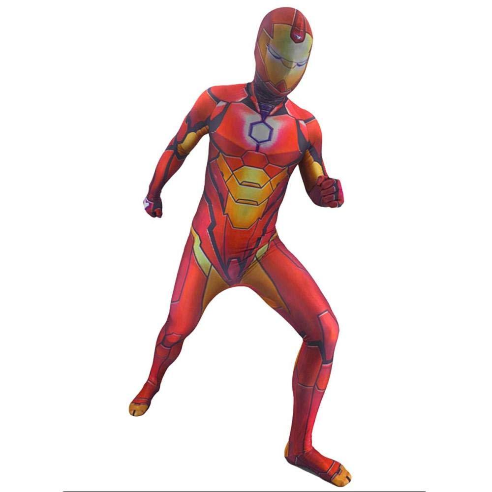 Traje De Cosplay De Iron Man Para Niños Adultos Los 4 Niños Traje ...