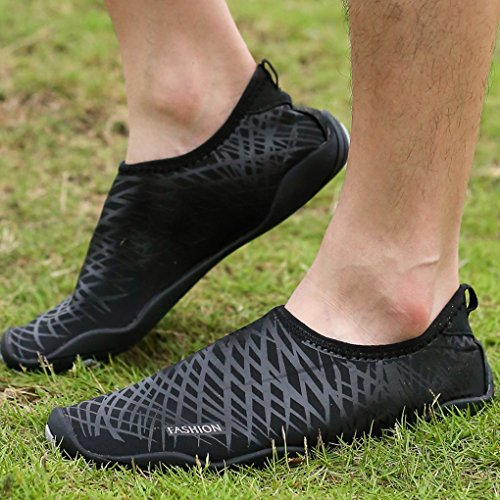 Camping Shoes Black Fishing Water Beach Sneaker Outdoor Aqua Wading Krastal Sport EqxYp64Ow