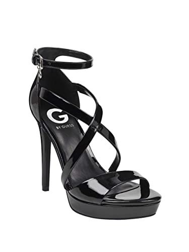 5dc7f0b4bb5 G by GUESS Women's Jessica Strappy Heels