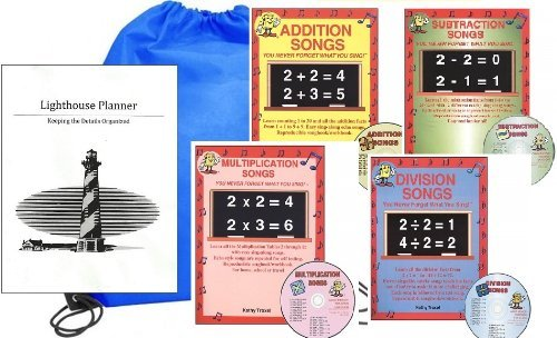Audio Memory Math Songs Homeschool Kit in a Bag