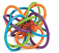 Manhattan Toy Winkel Rattle and Sensory Teether Activity Toy from Manhattan Toy