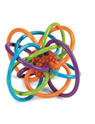 Manhattan Toy Winkel Rattle and Sensory Teether Activity Toy,...