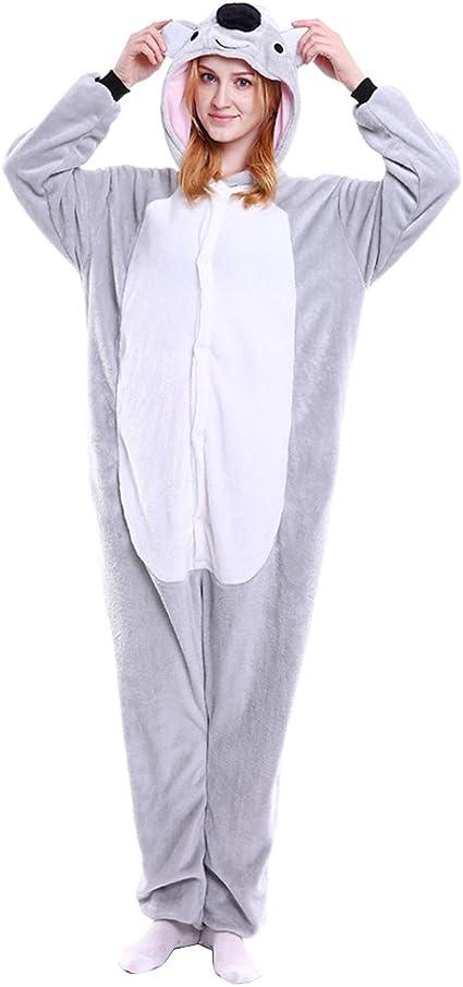 M&A Pijams Koala Animales Franela Disfraz Cosplay Para Carnaval ...