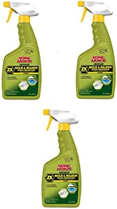 Home Armor FG502 Instant Mold and Mildew Stain Remover, Trigger Spray 32-Ounce (3 Pack)