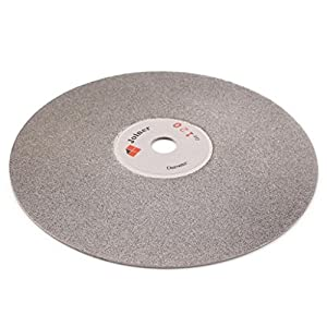 "6"" inch 150 mm Grit 120 Diamond Grinding Disc Abrasive Wheel Coated Flat Lap Disk Jewelry Tools for Gemstone Glass Rock Ceramics"