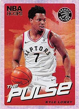09d044258af 2018-19 NBA Hoops The Pulse Holo #8 Kyle Lowry Toronto Raptors Official  Panini