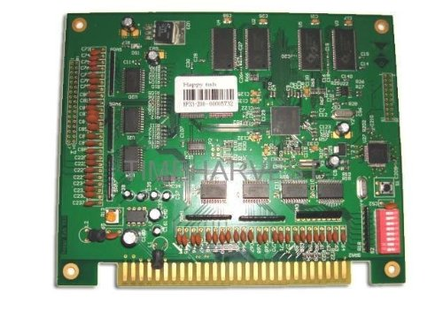 Happy Fish 2 Game board/302 in 1 jamma multi game pcb for ...