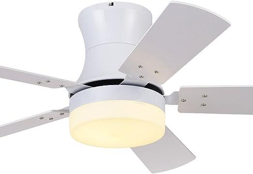 Ventilador de Techo Ultrafino LED Moderno Simple Lámpara ...
