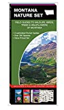 Montana Nature Set: Field Guides to Wildlife, Birds, Trees & Wildflowers of Montana