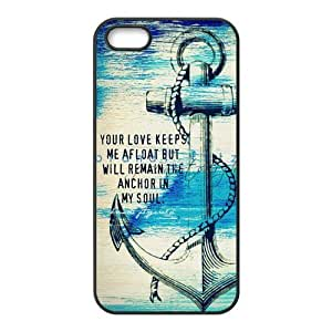 Painted Anchor PC Hard back phone Case cover Iphone 5s 5