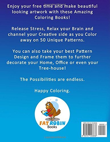 Coloring Book For Adults Vol 1 Tranquility 50 Anti Stress