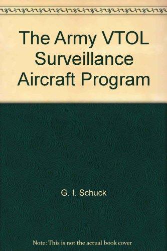 The Army VTOL Surveillance Aircraft Program,