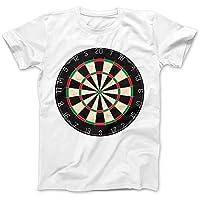 Dartboard Darts Dart Player T-Shirt 100% Premium Cotton