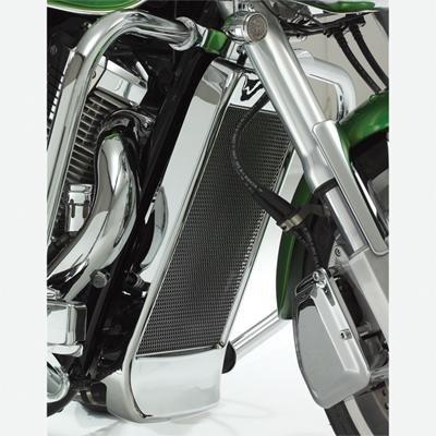 Show Chrome Mesh Radiator (02-04 HONDA VTX1800C: Show Chrome Mesh Radiator Grille)