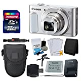 Canon PowerShot SX620 HS Digital Camera (Silver) + Transcend 32GB Memory Card + Point & Shoot Camera Case + Card Reader + Memory Card Wallet + LCD Screen Protectors + Cleaning Kit + Complete Bundle Review