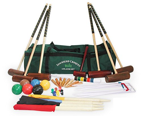 Garden Games Townsend Croquet Set (6 player in a bag) by Garden Games