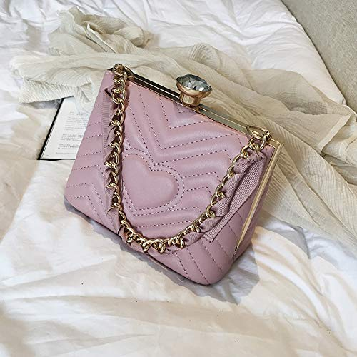 WSLMHH Rose Messenger Bag Main Fil Mode Sauvage Broderie de à tempérament épaule nbsp;Sac marée UwOUCq