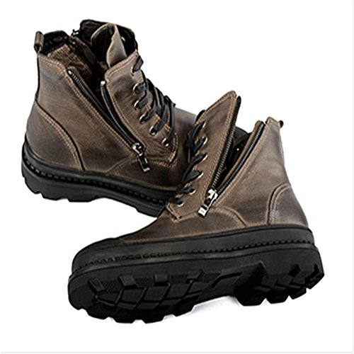 brown brown brown l'impermeabilit¨¤ l'impermeabilit¨¤ l'impermeabilit¨¤ l'impermeabilit¨¤ pi¨´ per alla inverno grande aiutare mantenere stivali per 42 degli a uomo Fertilizzante fine Fxq6w6