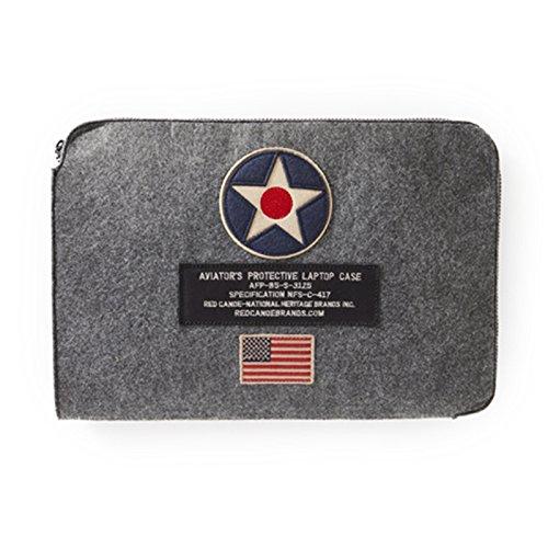 レッドカヌー – US Roundelノートパソコンケース| u-bag-ltusr-gy B071P11FFL