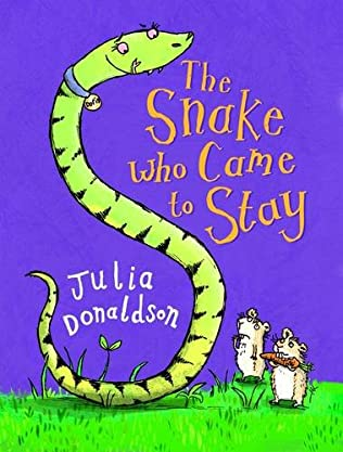 book cover of The Snake Who Came To Stay