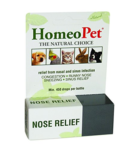 HomeoPet Nose Relief, 15 ml (Best Medicine For Cough And Sneezing)