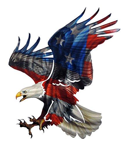 Next Innovations JQ Eagle American Flag 3D Wall Art, 20.25