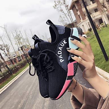 Maglia Primavera Tonda Sneakers Estate Nero Scarpe cn39 Per Ciclismo Ttshoes black footing Comoda us8 Polacche Donna sintetico eu39 Traspirante uk6 Punta CtBxq