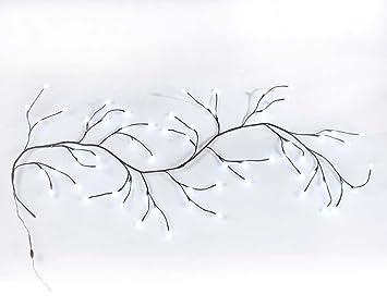 Applique murale led blanc Éclairage branche 180 cm long mur style