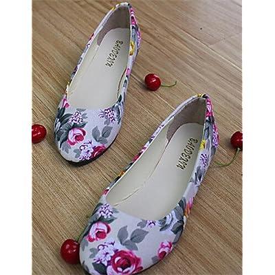 shangyi Chaussures Femme–Ballerines–Lässig–Plastique–Plat Paragraphe–Cycle Chaussures–Noir/Bleu/Vert/Rose/Violet