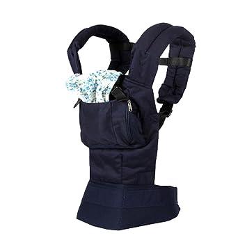 Mochila portabebés, mochila portabebés, mochila para recién nacidos, mochila ajustable para bebés recién nacidos y niños pequeños, color azul: Amazon.es: ...