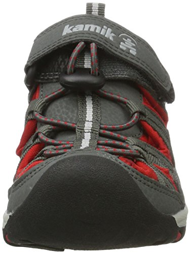 Kamik Wildcat - Zapatos de Low Rise Senderismo Unisex Niños Grau (CHA/GREY-CHARBON/GRIS)
