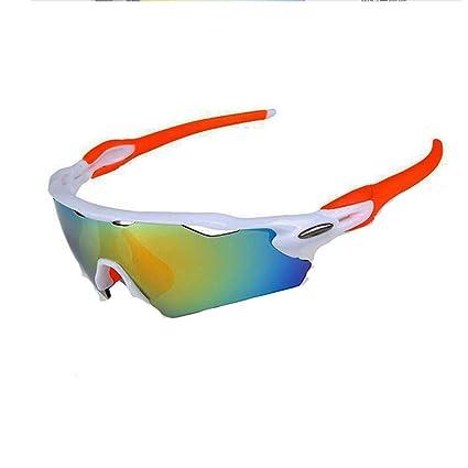 6e498045fa8d TOPTOJOKLJGDGHJH Men s Polarized Sport Sunglasses UV400 Protective Bike  Glasses with 5 interchangeable lenses for cycling