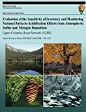 Evaluation of the Sensitivity of Inventory and Monitoring National Parks to Acidification Effects from Atmospheric Sulfur and Nitrogen Deposition: Upper Columbia Basin Network (UCBN), T. Sullivan and T. McDonnell, 1492750824