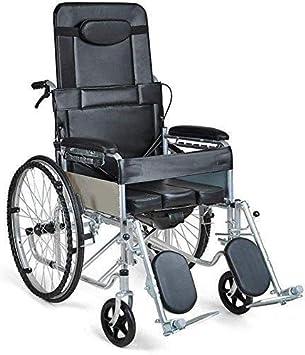 HYY-YY Discapacitados en Silla de Ruedas Plegable móviles Ligera - Ligero Movilidad Dispositivo for Ancianos, discapacitados y minusválidos, portátil Silla de Ruedas por la Independencia O
