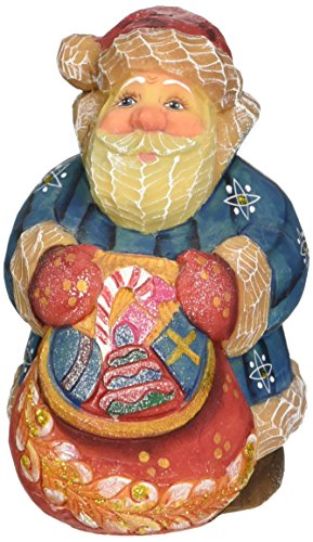 "G. Debrekht Santa Toy-Bag Gift Expressions Santa, 4"""