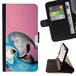 - Cool Friendly parrot/ Personalizada del estilo del dise???¡¯???¡Ào de la PU Caso de encargo del cuero del tir???¡¯????n del s - Cao - For Apple Iphone 6