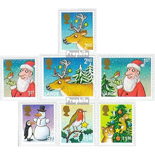 Royaume-Uni 3380I-3386I (complète.Edition.) 2012 Noël (Timbres pour les collectionneurs)