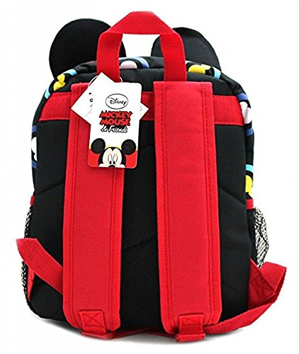 16 Disney Mickey Mouse Face Back to School Backpack with 3D Ear Ruz SG/_B074T89N38/_US