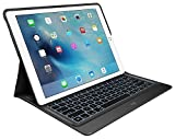 Logitech Create Backlit Keyboard Case with Smart Connector for iPad Pro (12.9-Inch) - Black (Certified Refurbished)